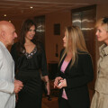HH Princess Corinna Sayn-Wittgenstein meets Sir Ben & Lady Kingsley